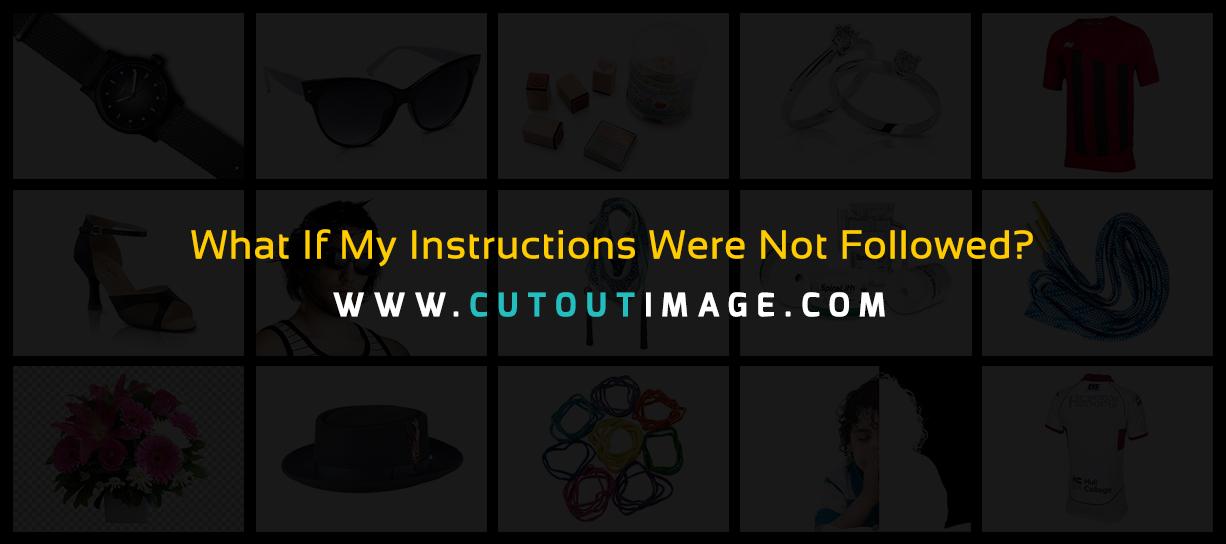 instruction-not-followed